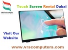 interactive Touch Screen Rental Dubai