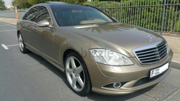 S350 AMG 2009 PANORAMIC GARGASH MERCEDES SERVICED LIKE NEW