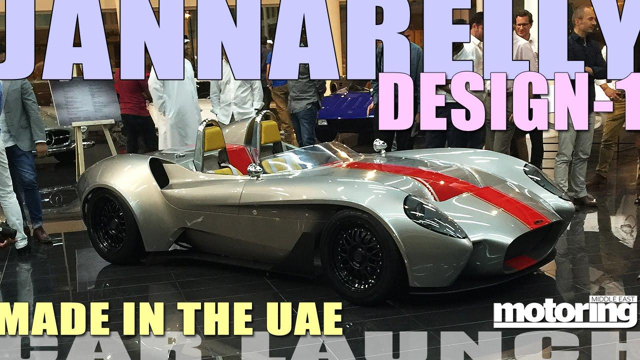 First car designed, built entirely in UAE sent to France