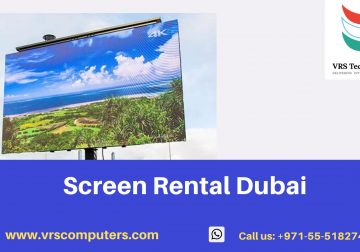 Big Screen Rental Services in Dubai at VRS Technologies