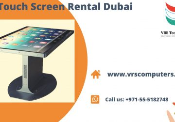 Interactive Touch Screen Hire Solutions in Dubai