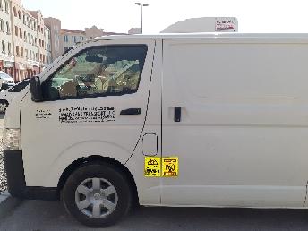 Chiller van rental Transport