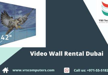 LED Video Wall Rental Dubai at VRS Technologies