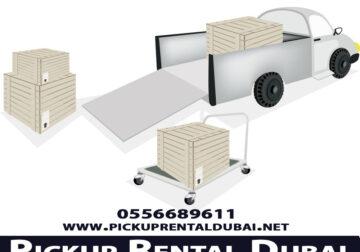 Pickup Truck Rental Dubai 055 668 9611