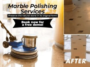 Marble Polishing Service and Marble Crystallization Services