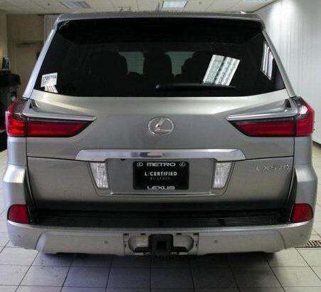Used 2016 LEXUS LX 570 Atomic Silver