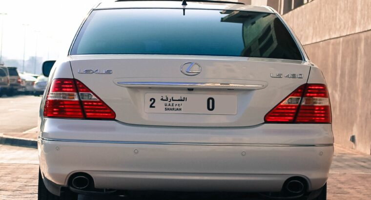 Lexus Ls430 Us Import