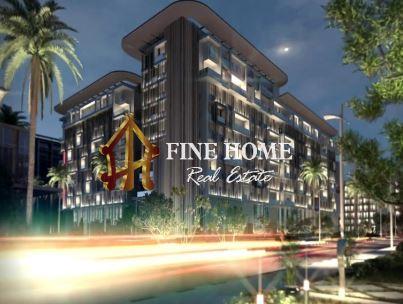 2 BR Sky home & W Private Jacuzzi  & Balcony in Masdar City